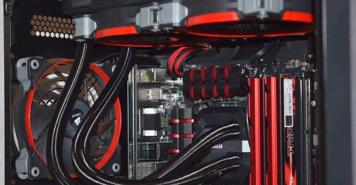 Image composants gaming PC